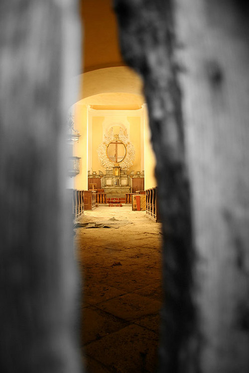 """Fotografie \""""Tajemství oltáře\"""""""