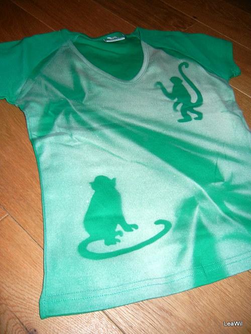 Tričko s krátkým rukávem S - Opice