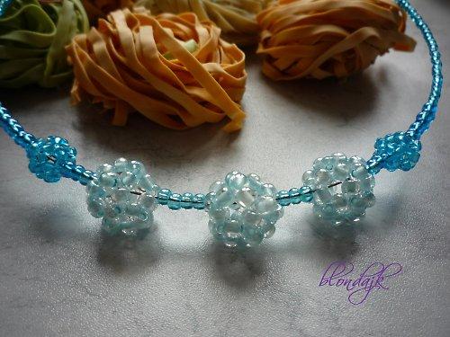 Modrá je dobrá - náhrdelník