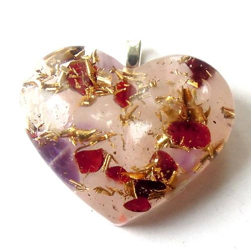 Orgonit - granáty pro lásku, růženín pro něhu...