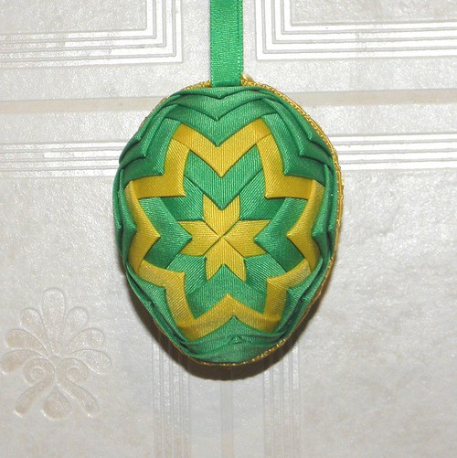 Artyčokové vajíčko - zeleno-žluté
