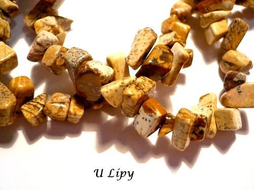 Minerální zlomky 45 cm - jaspis pískový