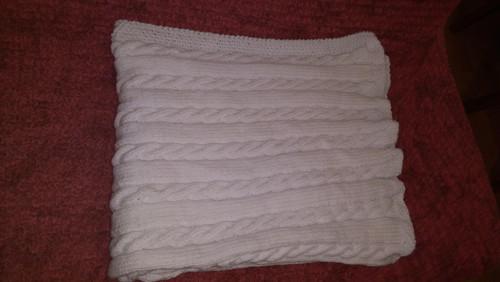 Pletená deka na objednávku 130x170 cm