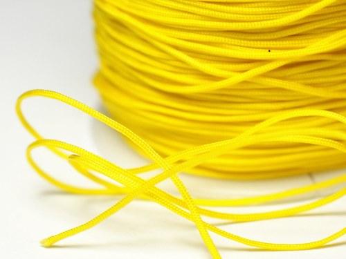 1m šňůrka 0,7mm- žlutá