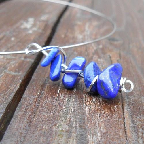 lazuritový náhrdelník 3