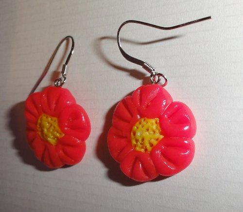 Neonově růžové květinky