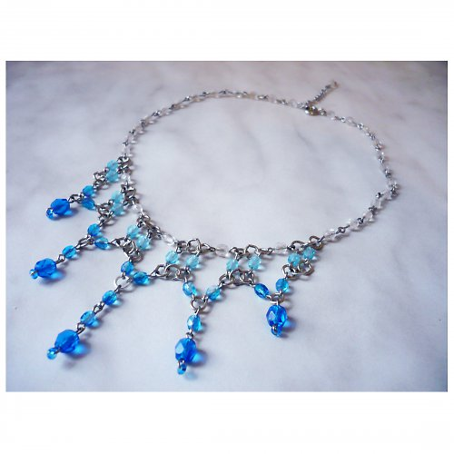 Barvy moře - náhrdelník