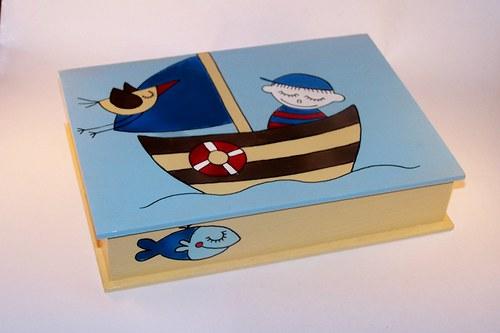 NOE - malovaná krabička