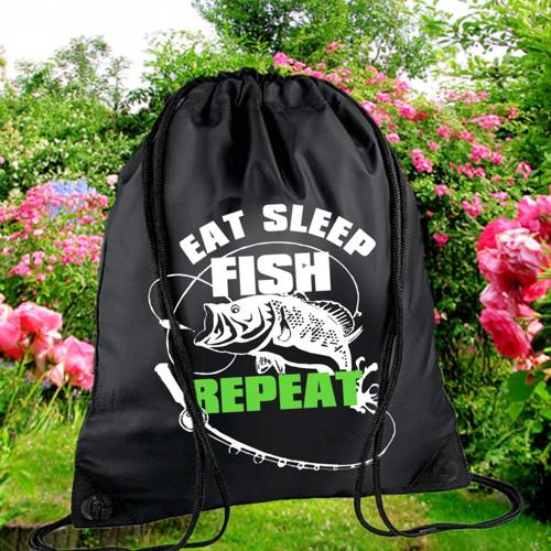 Batůžek  EAT AND SLEEP FISH