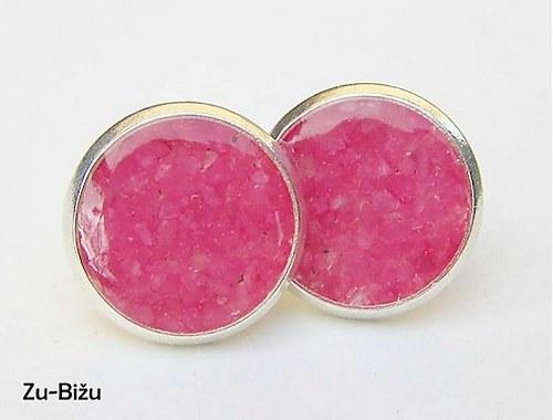 Ružové kamienky 8 mm