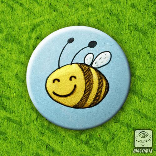 Bee - placka