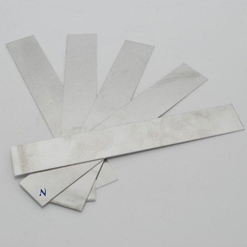 Sada výztuh pro náramek I / 5 ks (úzká - krátká)
