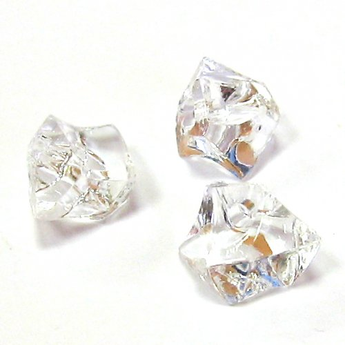 Akrylové krystaly - čirá - 5 ks