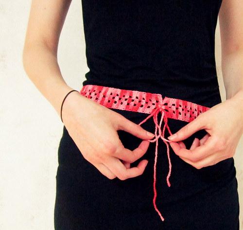 Růžovkový pásek