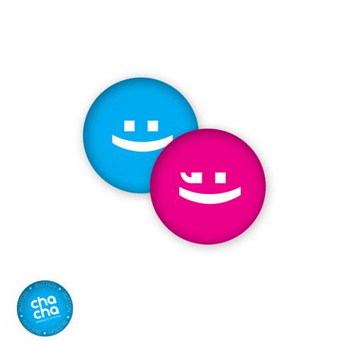 Smile! - náušnice pecky
