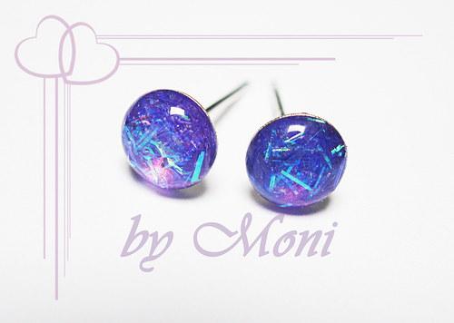 Třpytivky malé fialové