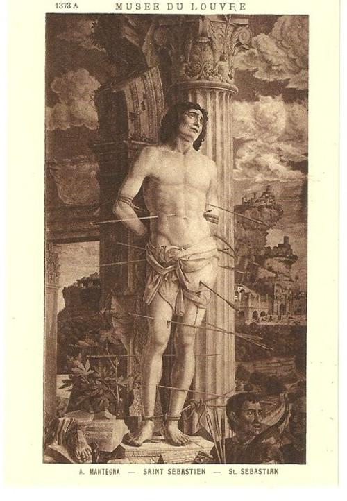 Umělecká pohlednice A.Mantegna