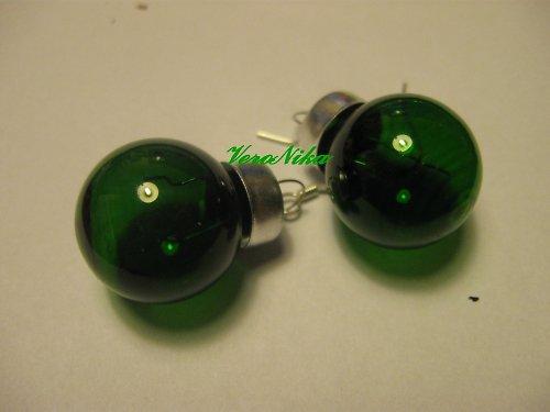 Baňky - zelené průhledné