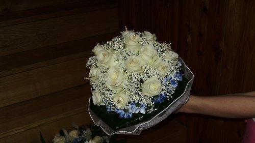 Svatební kytice - růže