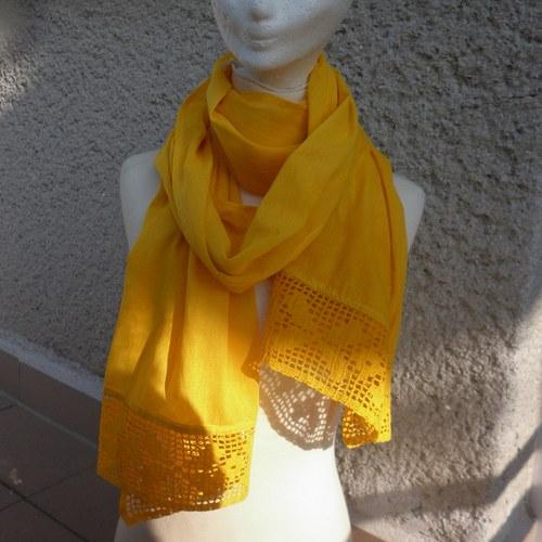 Pléd žlutý
