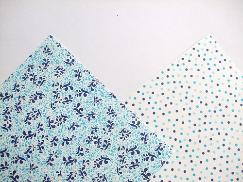 Sada papírů origami - voděodolný - 15x15