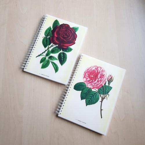 Les roses I., sada sešitů
