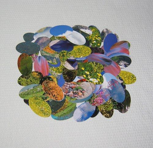 Oválky papírové barevné, 120 ks