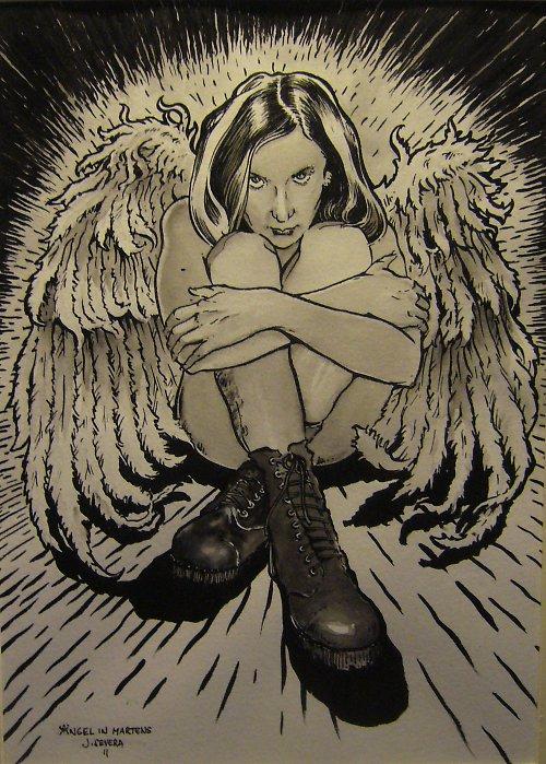 Jan Severa - Angel in martens