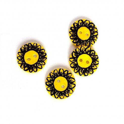 Zářivé slunečnice (4 ks)