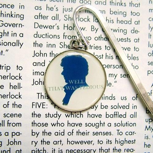 Záložka do knihy s citátem - Sherlock Holmes