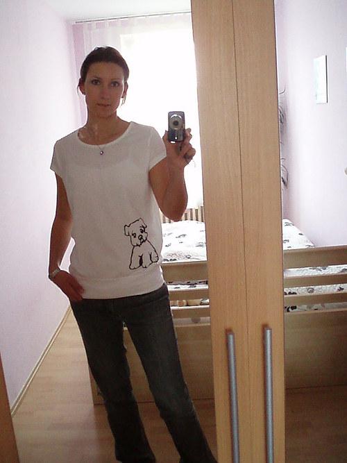 Trendové tričko s pejskem