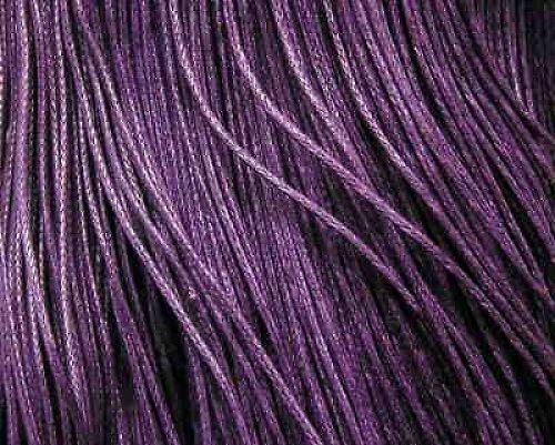 Návin fialové,povoskované,bavlněné šňůrky