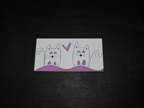 Zamilovaní kočka a kocour...