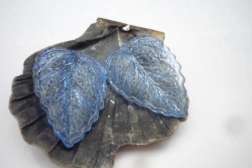 modré akrylové listy 4 ks