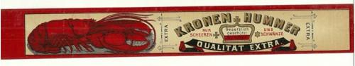 Etiketa Kronen Hummer