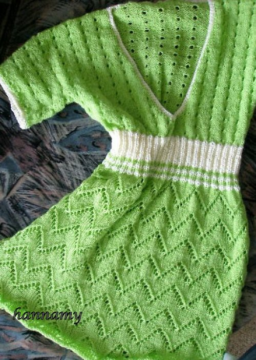 Zelenožlutá tunika