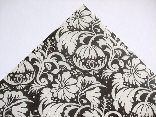 Pergamenový papír - Květinový ornament