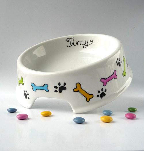 miska pro psa se jménem - kostičky