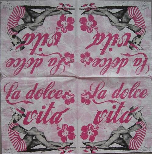 La Dolce Vita pink č. 1723