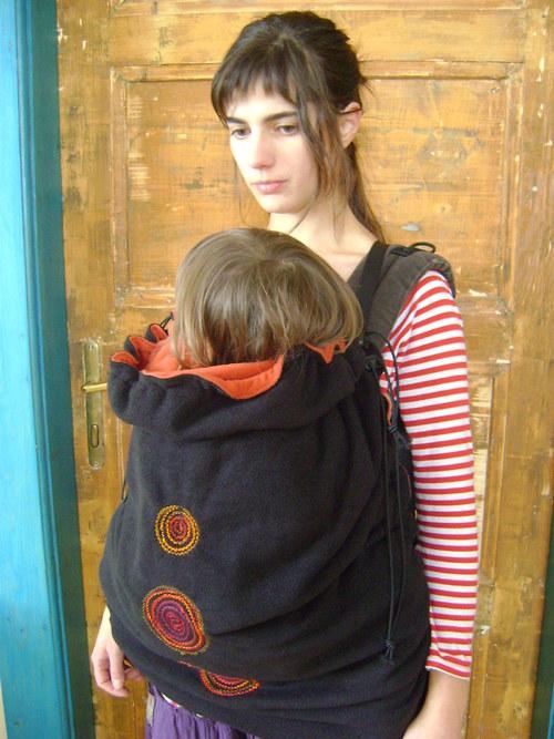 Teplá kapsa na šátek na nošení dětí-na přání 8