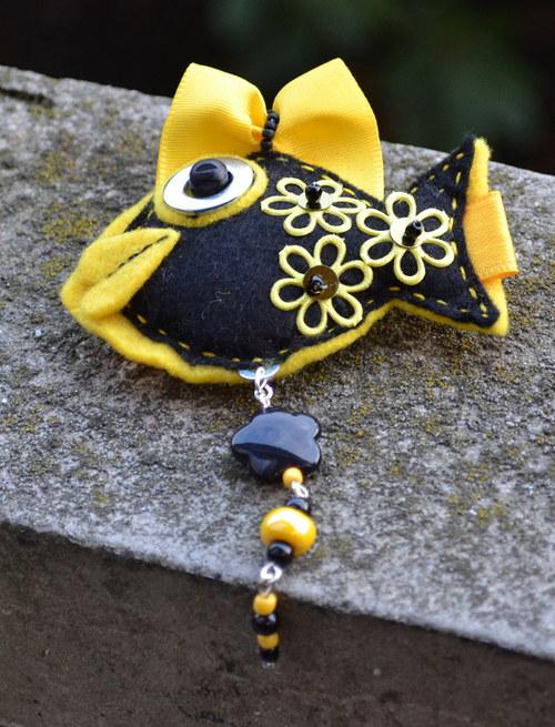 Rybka žlutočerná