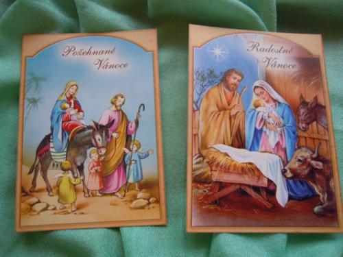 Vánoční pohlednice č.6