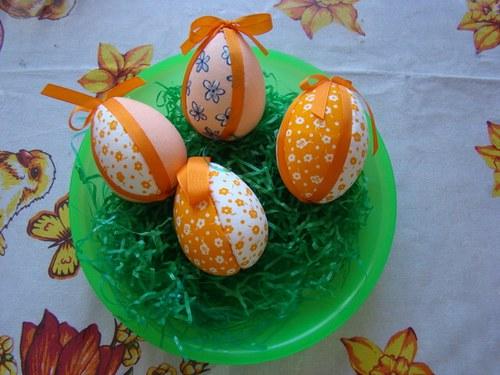 Vajíčka - směs oranžová