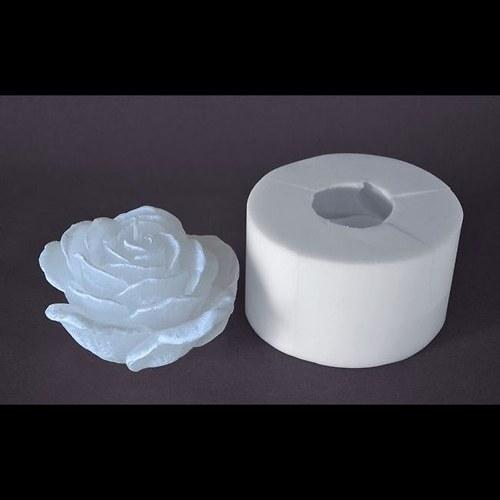 Forma na svíčky Květ růže velká průměr 12cm
