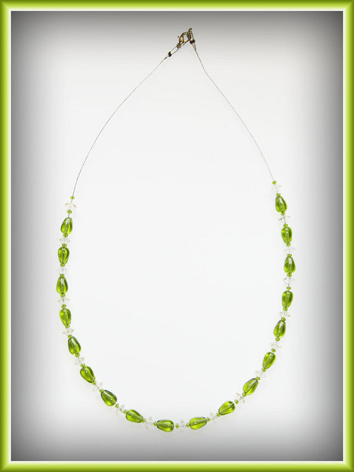Zelené kapky