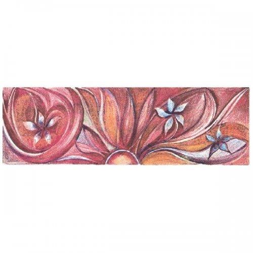 Originál litografie - Květinová fantazie