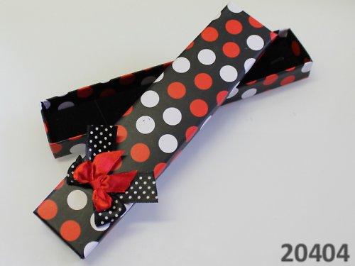 20404 Luxusní dárková krabička s PUNTÍKY dlouhá