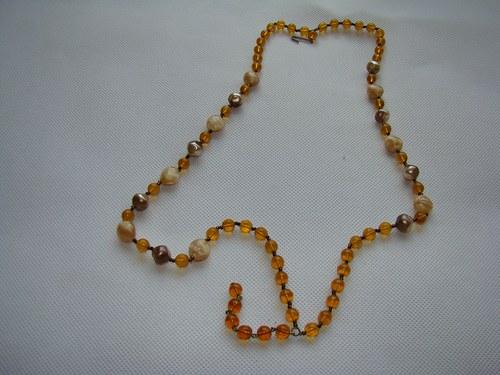 Korálky - náhrdelník č11 (neúplný)