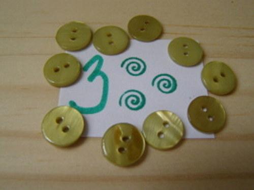 Knoflíky  - perleťové