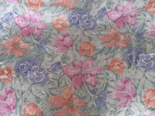 Fialovo-lososové květy (0,5m, š:115cm)